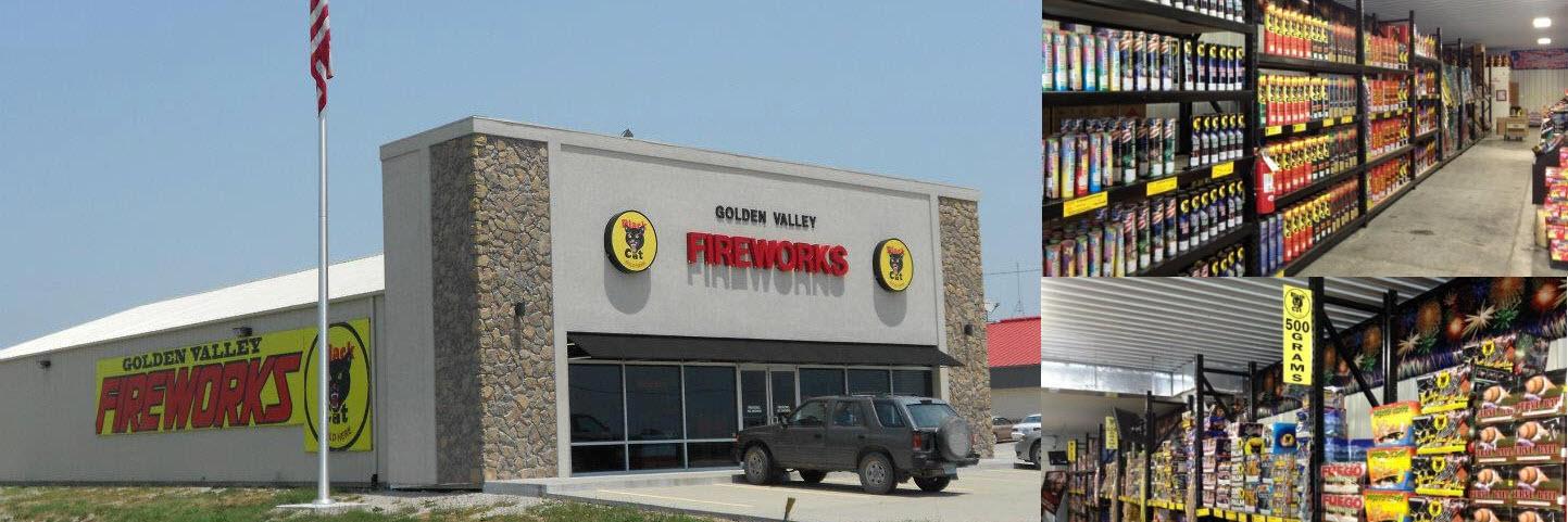 Golden Valley Fireworks Store